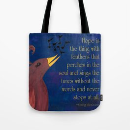 A Song of Hope Tote Bag