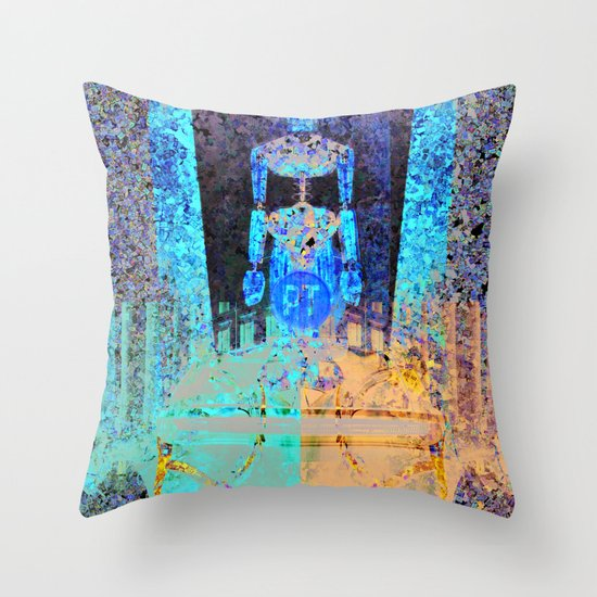 Le Chariot Throw Pillow