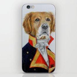 dog king iPhone Skin