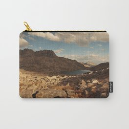 Wind River Mountains and Alpine Lake Carry-All Pouch