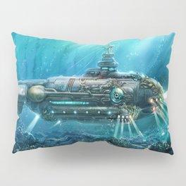 Steampunk Submarine Pillow Sham
