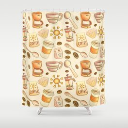 Morning Coffee Shower Curtain