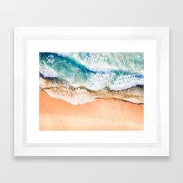 Majestic Wave Framed Art Print