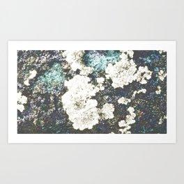 Brushy island Art Print