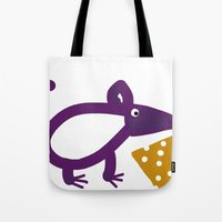 cheese Tote Bags featuring Cheese? by Stephanie Cole CREATIONS