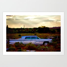Lincoln Continental  Art Print