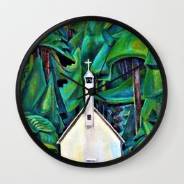 The Indian Church - Digital Remastered Edition Wall Clock