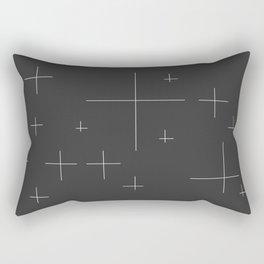 Blanco Y Negro #society6 #decor #buyart Rectangular Pillow