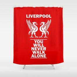 Slogan: Liverpool Shower Curtain