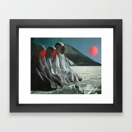 """""""The Sisters of Mercy"""" Martin Carri Collaboration Framed Art Print"""