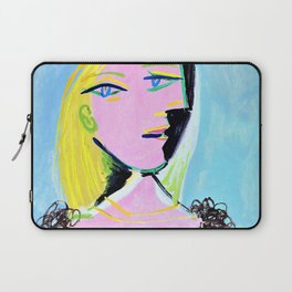 12,000pixel-500dpi - Pablo Picasso - Woman with orange beret and fur collar, Marie-Therese Laptop Sleeve