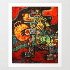 The Bear Shaman Art Print