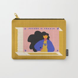 Future is Female Carry-All Pouch