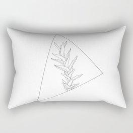 Botanical triangle Rectangular Pillow