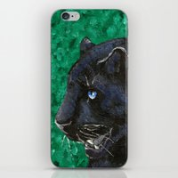panther iPhone & iPod Skins featuring Panther by Kelly Katastrophe