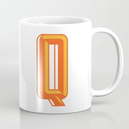 Letter Q Coffee Mug