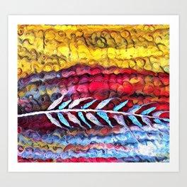 Prairie Feather Art Print