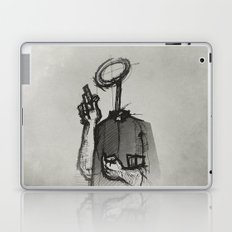 Trust With No Head And Half Finger! Laptop & iPad Skin