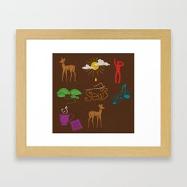Doe Ray Me Framed Art Print