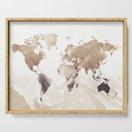 MAP-Freedom vibes worldwide  IΙI Serving Tray
