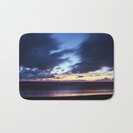 Magic Henne Beach on the West Coast of Denmark Bath Mat