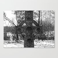 celtic Canvas Prints featuring Celtic by Kendall Brier