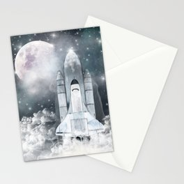 the adventure begins Stationery Cards