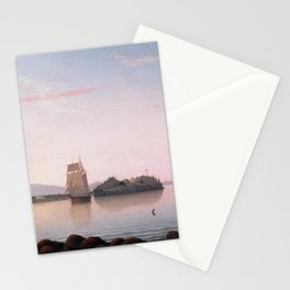 Fitz Henry Lane Owl's Head, Penobscot Bay, Maine Stationery Cards