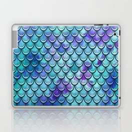 Mermaid Scales Watercolor Laptop & iPad Skin