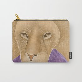 The Importance of being a Lion Carry-All Pouch