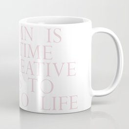 time for creative souls Coffee Mug