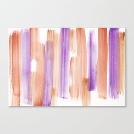 11   181203 Watercolour Patterns Abstract Art Canvas Print