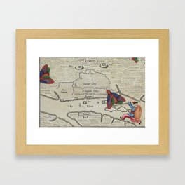 Kanton Framed Art Print