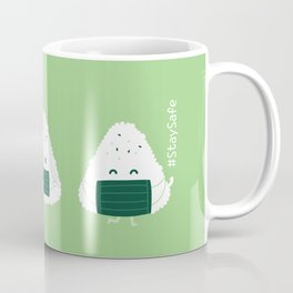 Stay safe and have a RICE day! Coffee Mug