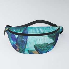Bright Ocean Spaces, Tiny World Collection Fanny Pack