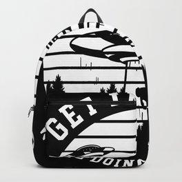Ufo Loser Halloween Alien Backpack