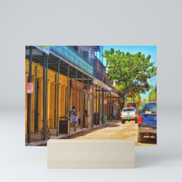 Sun Soaked New Orleans Mini Art Print