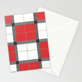Checkered Stationery Cards
