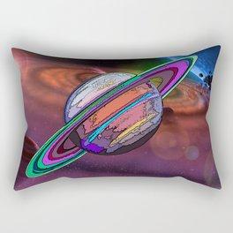 Graphically Saturn Rectangular Pillow