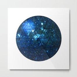 Star Geodesic Metal Print