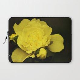 Yellow Rose Laptop Sleeve
