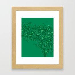 Love Leaves Framed Art Print