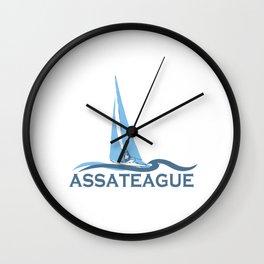 Assateague Island - Maryland. Wall Clock