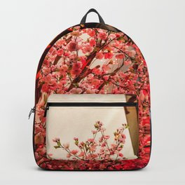Nature in asian street Backpack