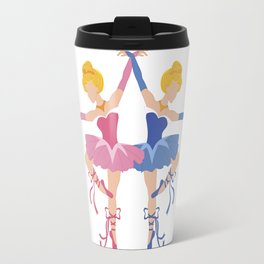 Blue or Pink Ballerina Princess Variant Travel Mug