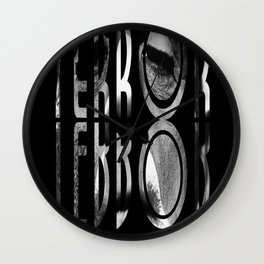 terror. Wall Clock