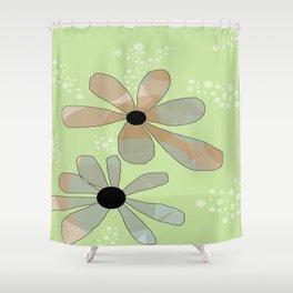 FLOWERY ANINE / ORIGINAL DANISH DESIGN bykazandholly Shower Curtain