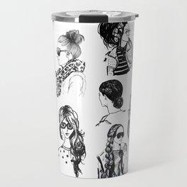 Girls Collage Travel Mug