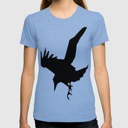 Raven A Halloween Bird Of Prey  T-shirt