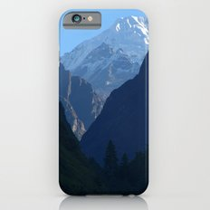 Pines and Mountains near Dharapani iPhone 6s Slim Case